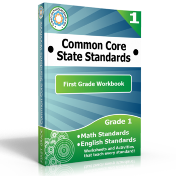 first grade common core workbook 350x350 Number and Operations Fractions Standards