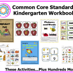 Kindergarten Common Core Activities