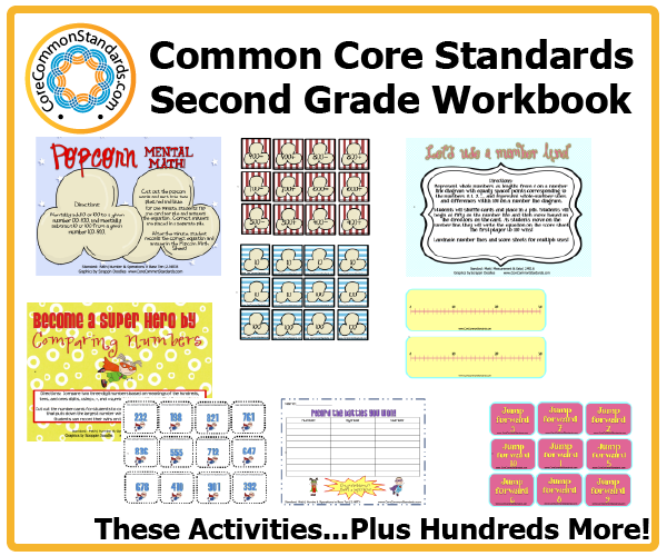 math worksheet : second grade common core workbook download : Common Core Math Worksheets For 2nd Grade