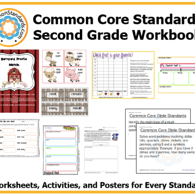 Second Grade Common Core Activities