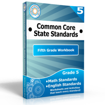 fifth grade common core standards workbook 350x350 Number and Operations Fractions Standards