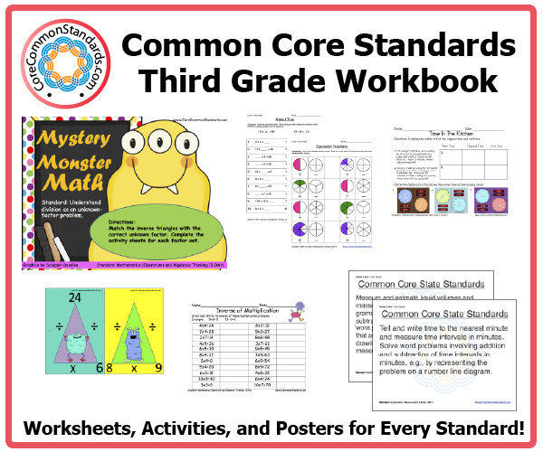Third Grade Common Core Workbook Download – 3rd Grade Common Core Math Worksheets