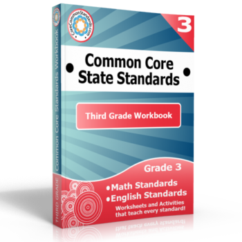 third grade common core workbook 350x350 Third Grade Math Standards