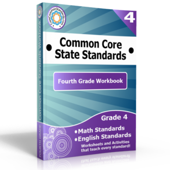 fourth grade common core standards workbook 350x350 Number and Operations Fractions Standards