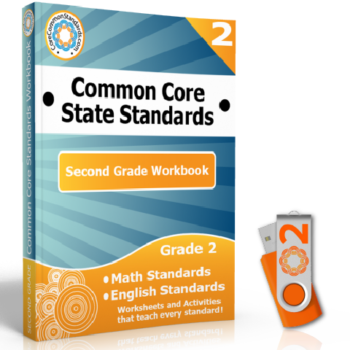 second grade common core workbook usb 350x350 Second Grade Geometry Standards