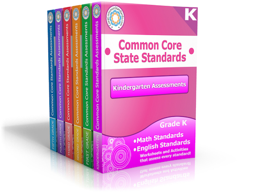 Common Core Assessment Workbooks