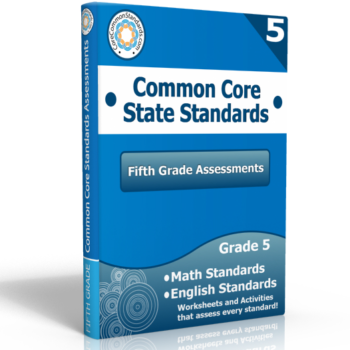 fifth grade common core assessment workbook 350x350 Geometry Standards