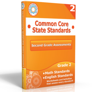 second grade common core assessment workbook 350x350 Math Standards
