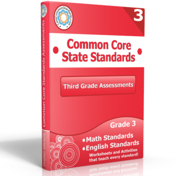 third grade common core assessment workbook 350x350 Kansas Standards