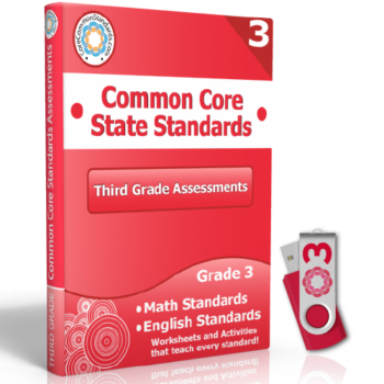 third grade common core assessment workbook usb 350x350 Third Grade Standards