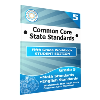 Fifth Grade Common Core Workbook - Student Edition