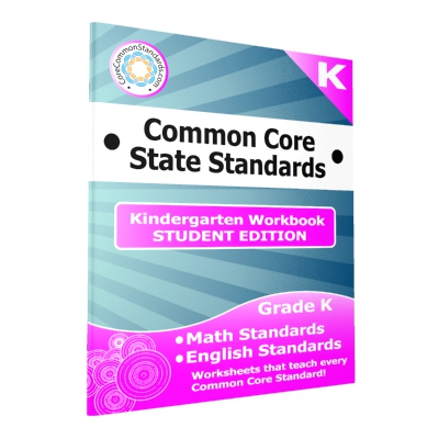 Kindergarten Common Core Workbook - Student Editions
