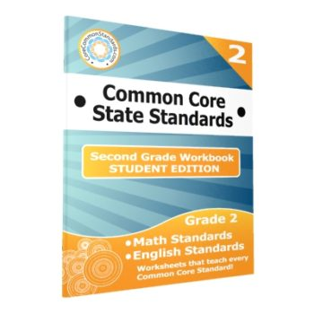 Second Grade Common Core Workbook - Student Editions