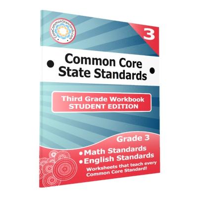 Third Grade Common Core Workbook Student Edition