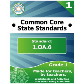 1.OA.6 First Grade Common Core Bundle