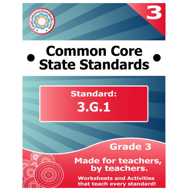 3.G.1 Third Grade Common Core Bundle