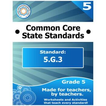 5.G.3 Fifth Grade Common Core Bundle