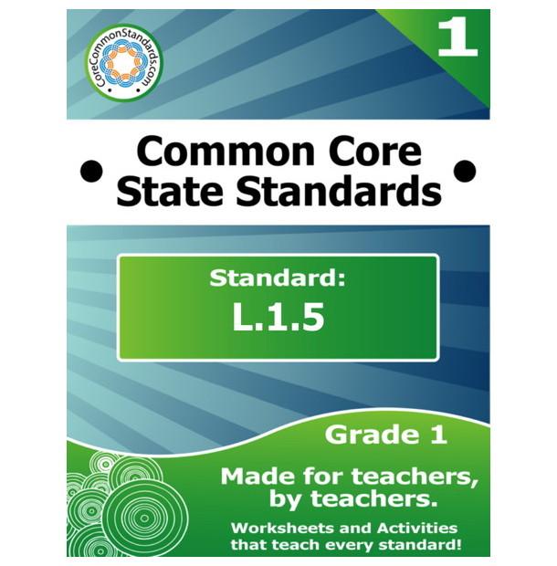 L.1.5 First Grade Common Core Bundle