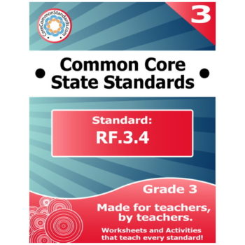 RF.3.4 Third Grade Common Core Bundle