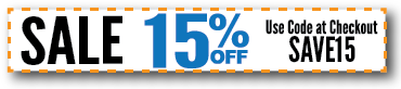Save 15% Off Everything